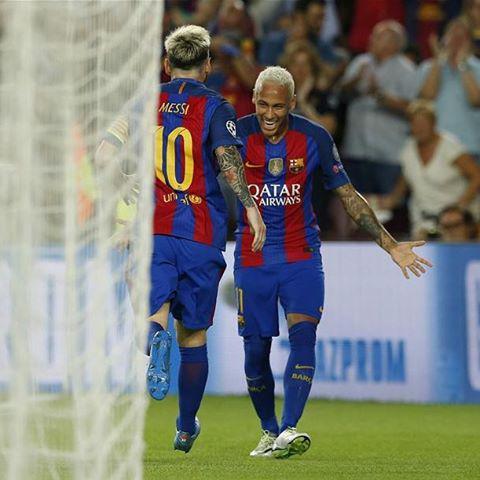 نتیجه بازی بارسلونا سلتیک 23 شهریور 95+خلاصه و گلها دیشب