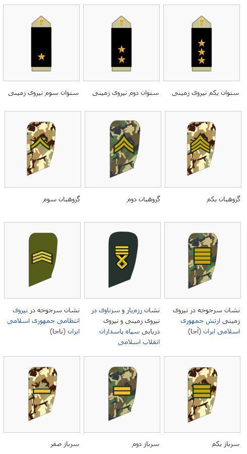 درجه لیسانس در سربازی سال 96-97