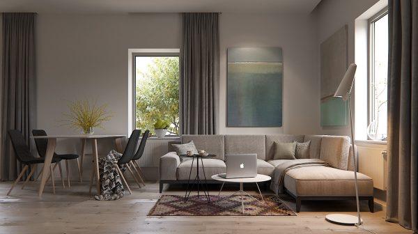 طراحی اتاق نشیمن6