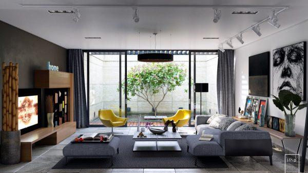 طراحی اتاق نشیمن10