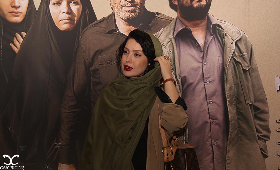 نازنین کریمی در اکران فیلم هیهات