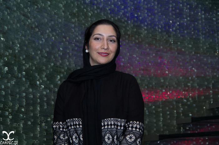 بهاران بنی احمدی در اکران فیلم هیهات