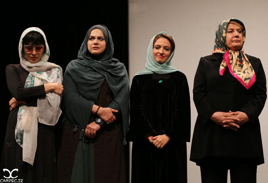 هنرمندان در اکران فیلم هیهات