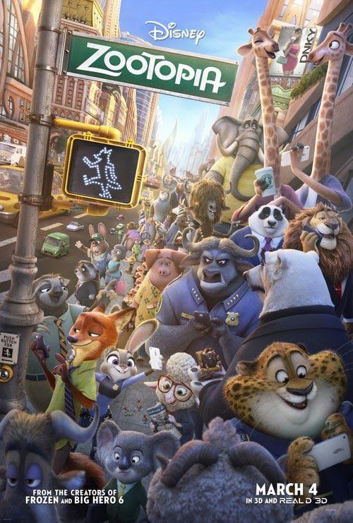 دانلود انیمیشن زوتوپیا Zootopia 2016 دوبله فارسی با لینک مستقیم