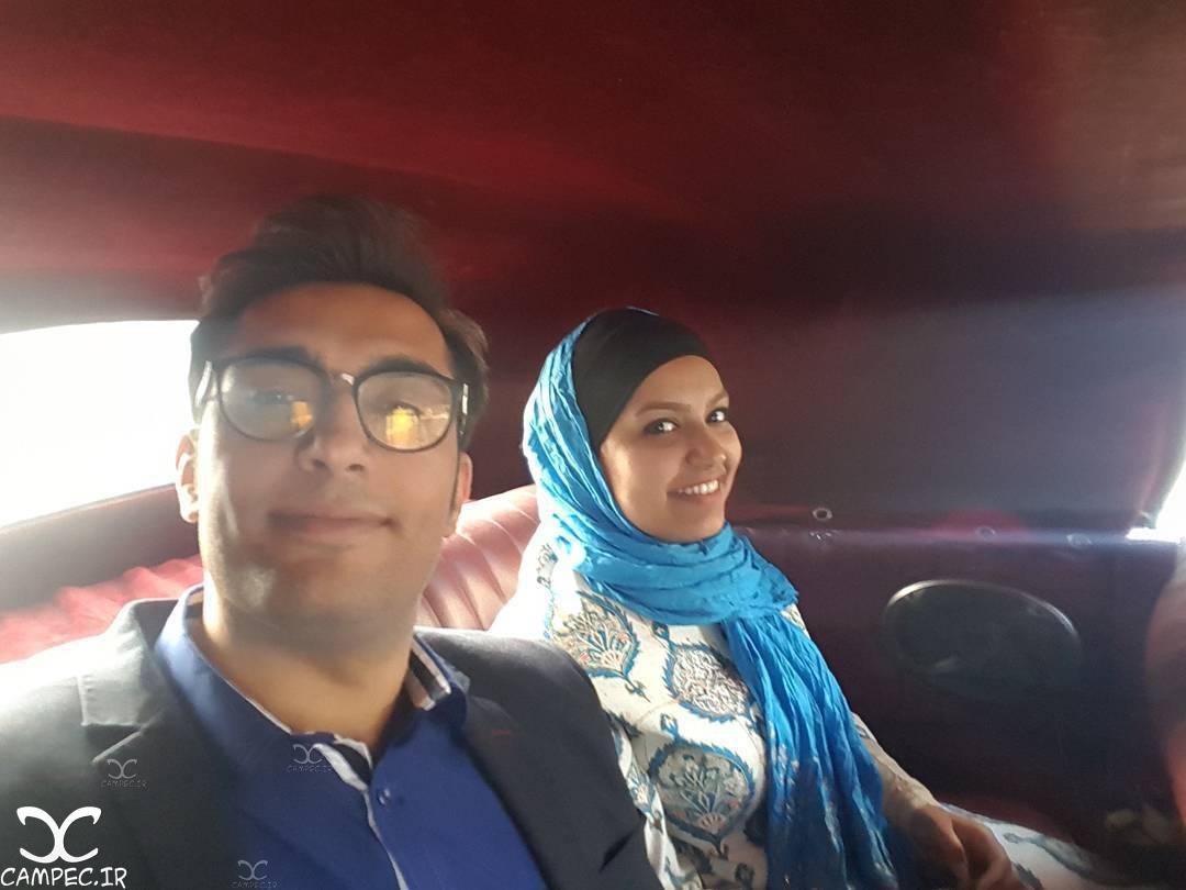 نوید عبداللهی و خواهرش