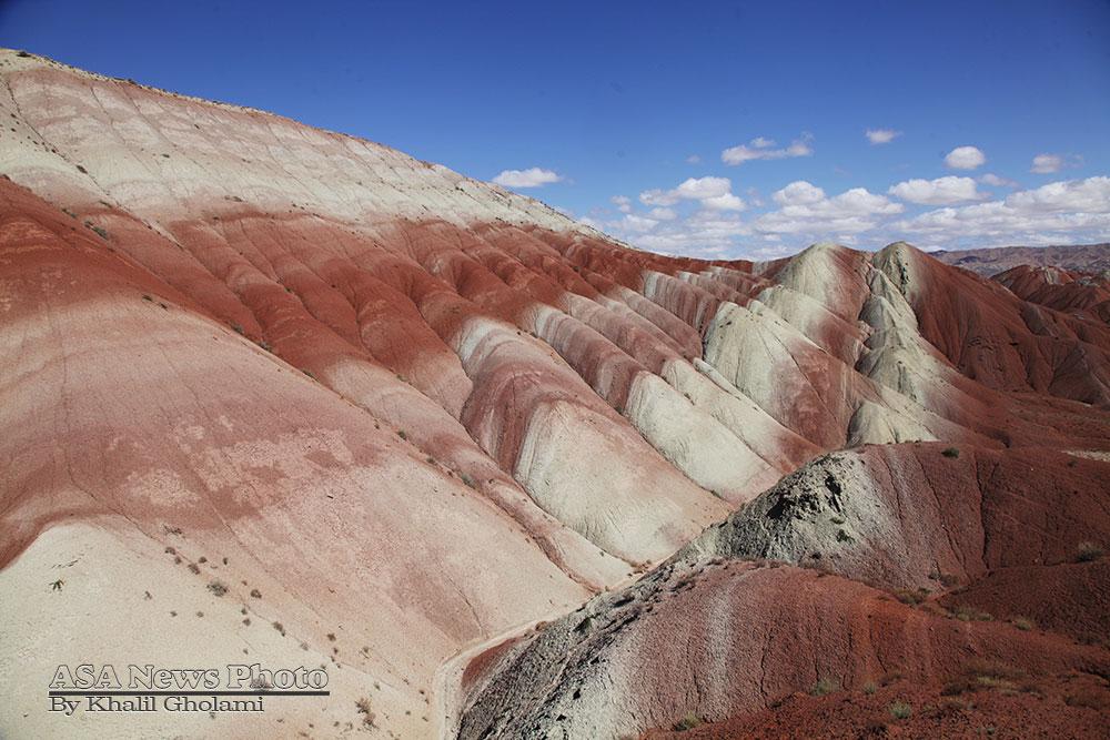 کوههای رنگی آذربایجان