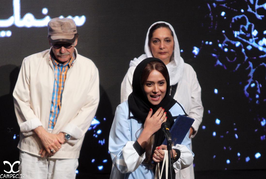 پریناز ایزدیار در دهمین جشن انجمن منتقدان سینما