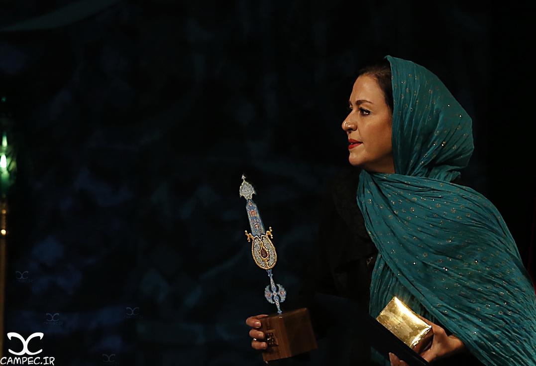 مریلا زارعی در دهمین جشن انجمن منتقدان سینما