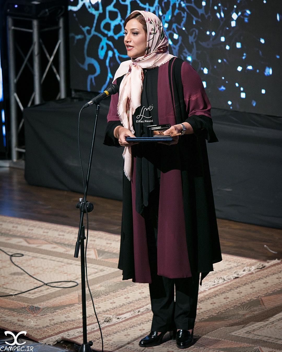 شبنم مقدمی در دهمین جشن انجمن منتقدان سینما