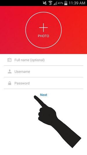آموزش تصویری ساخت اکانت اینستاگرام