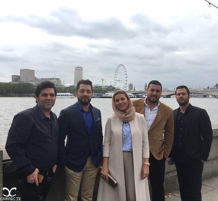 عکسهای بازیگران و عوامل فیلم بارکد در لندن