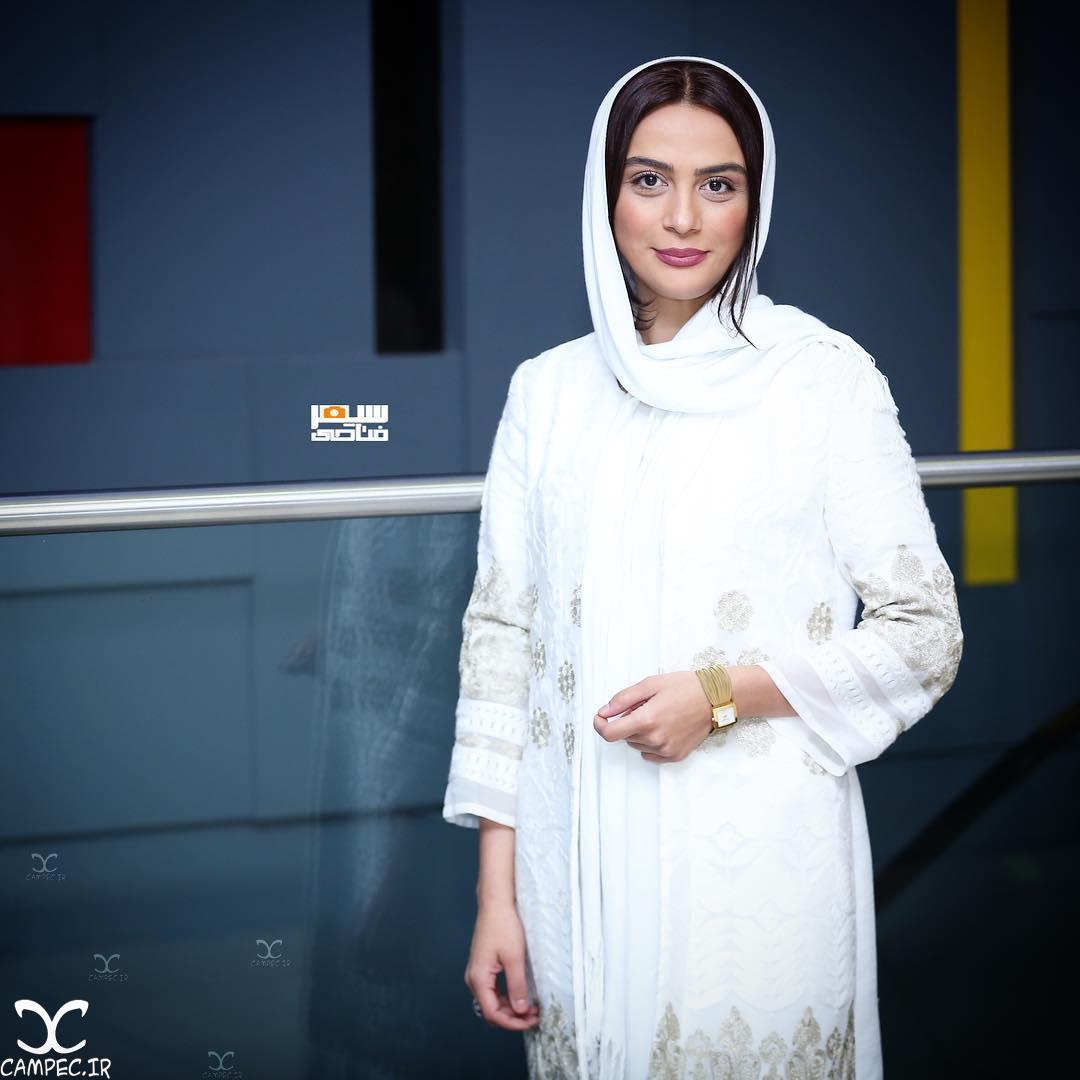 مارال فرجاد در اکران فیلم ربوده شده