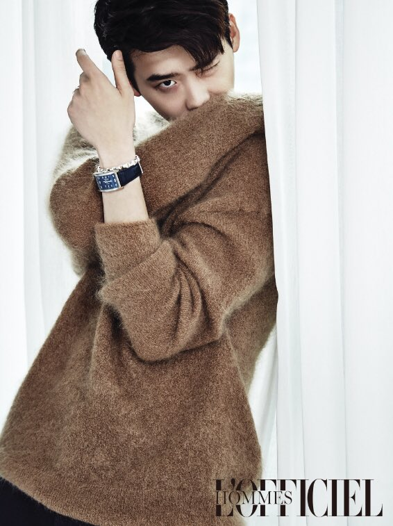 عکس های جدید لی جونگ سوک برای مجله ی L'Officiel Hommes