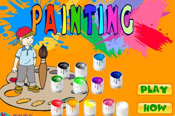 بازی نقاشی برای کودکان,نقاشی,نقاشی های کودکانه,نرم افزار نقاشی برای کودکان,