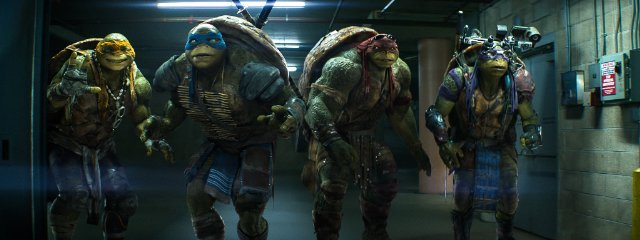 دانلود فیلم لاکپشت های نینجا 2014 با دوبله فارسی