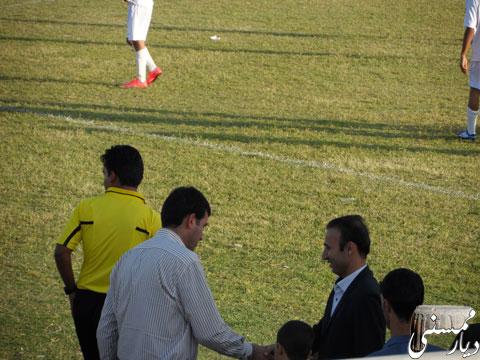 بازی تیم باران ممسنی و بهمن شیراز