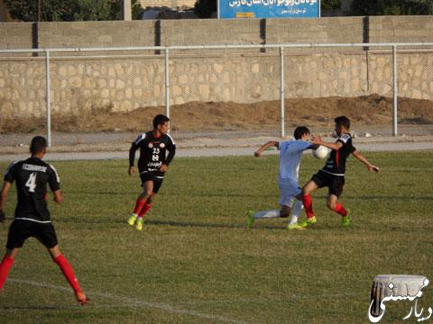 بازی تیمهای باران ممسنی و 22بهمن شیراز