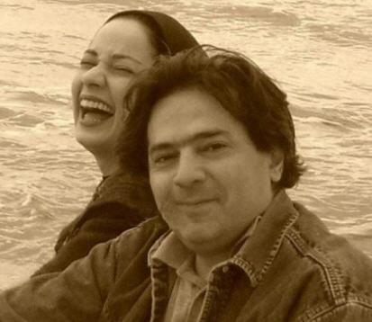 نسرین نصرتی و همسرش سام پاک پیکار،شوهر نسرین نصرتی،عکس همسر نسرین نصرتی،اسم شوهر نسرین نصرتی،نسرین نصرتی و شوهرش،همسر نسرین نصرتی کیست؟