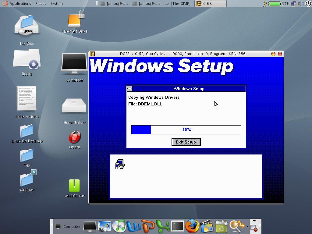Running Windows 3.11 On Ubuntu