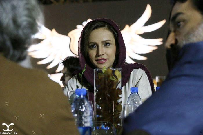 شبنم قلی خانی در جشن سالانه آکادمی سمندریان