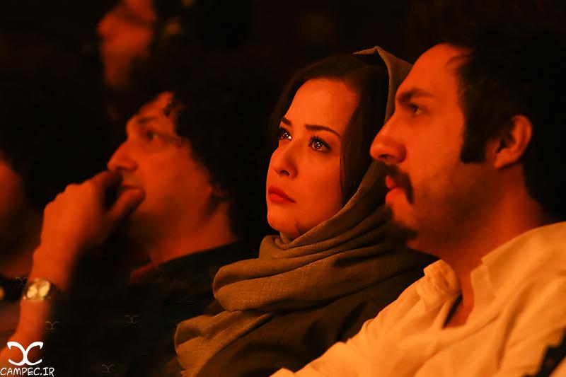 مهراوه شریفی نیا در کنسرت سیامک عباسی