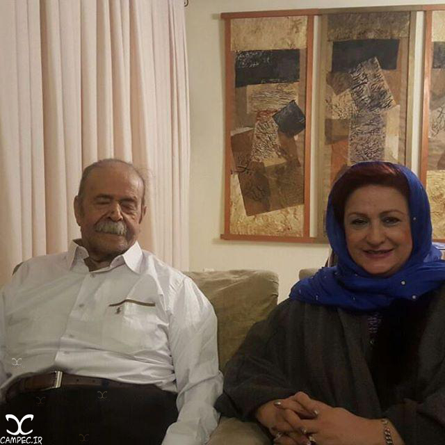 مریم امیرجلالی و محمد علی کشاورز