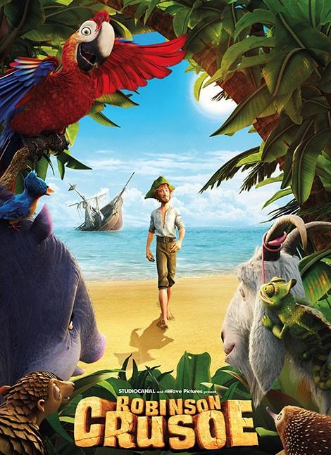 دانلود انیمیشن رابینسون کروزو با دوبله فارسی – robinson crusoe 2016