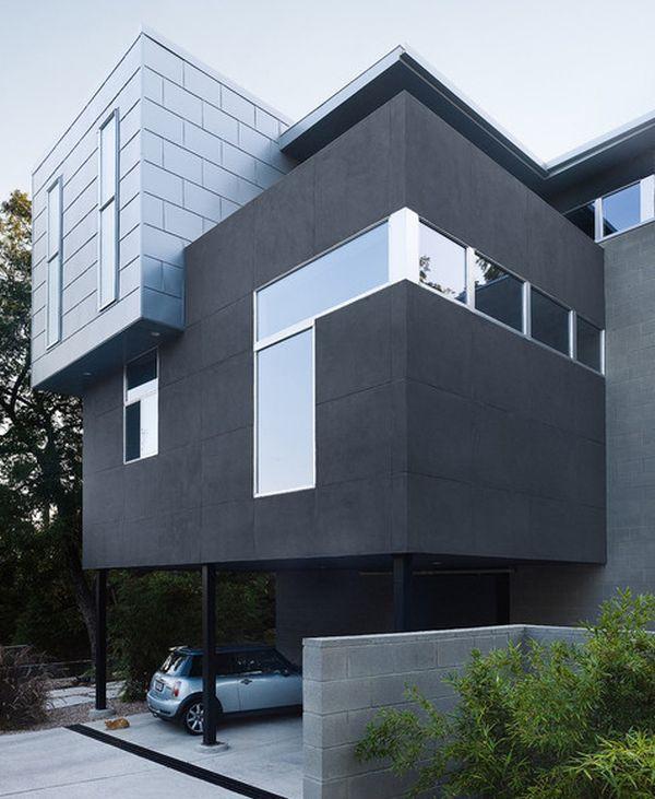 نمای مدرن ساختمان3