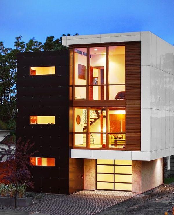 نمای مدرن ساختمان4
