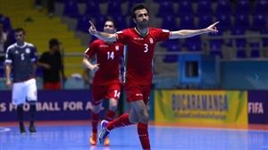 نتیجه فوتسال بازی ایران و روسیه 7 مهر 95 | گلها و خلاصه دیشب