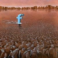 مجموعه کاریکاتور در مورد فیس بوک (پاول کوژینسکی)