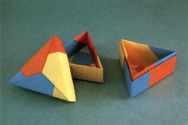 ساخت جعبه های کاغذی