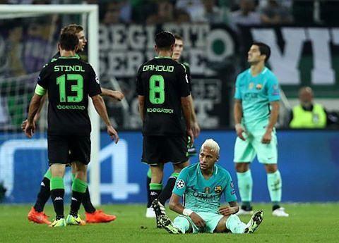 نتیجه بازی بارسلونا و مونشن گلادباخ 7 مهر 95 | گلها و خلاصه دیشب