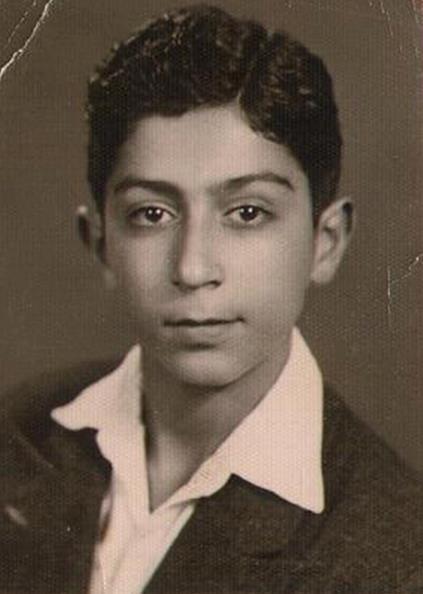 عکس کودکی پروفسور مجید سمیعی
