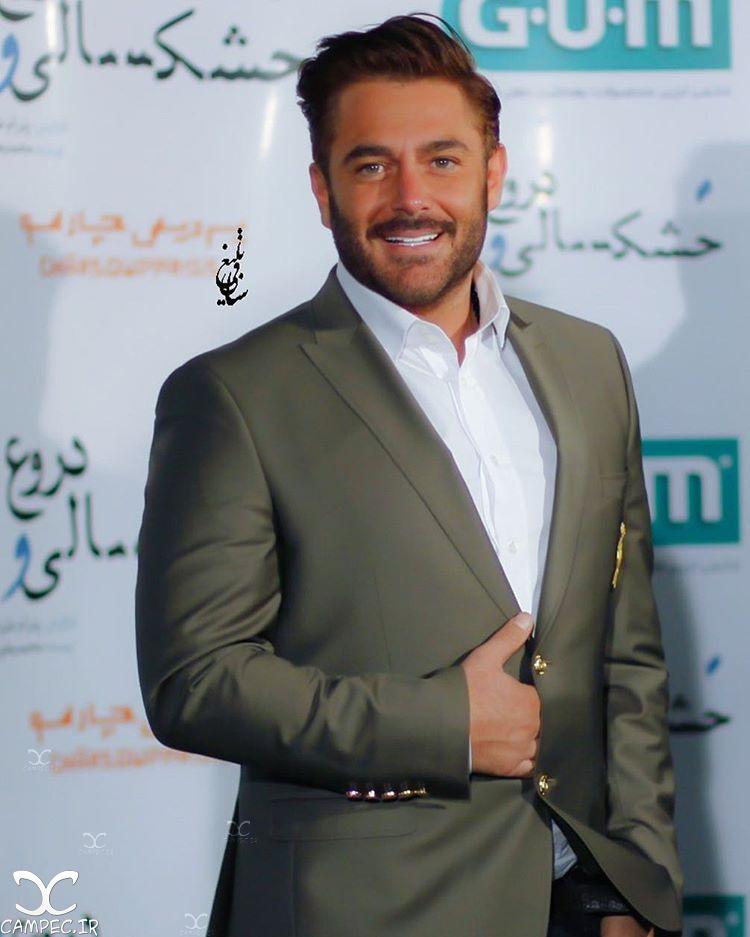 محمدرضا گلزار در اکران فیلم خشکسالی و دروغ