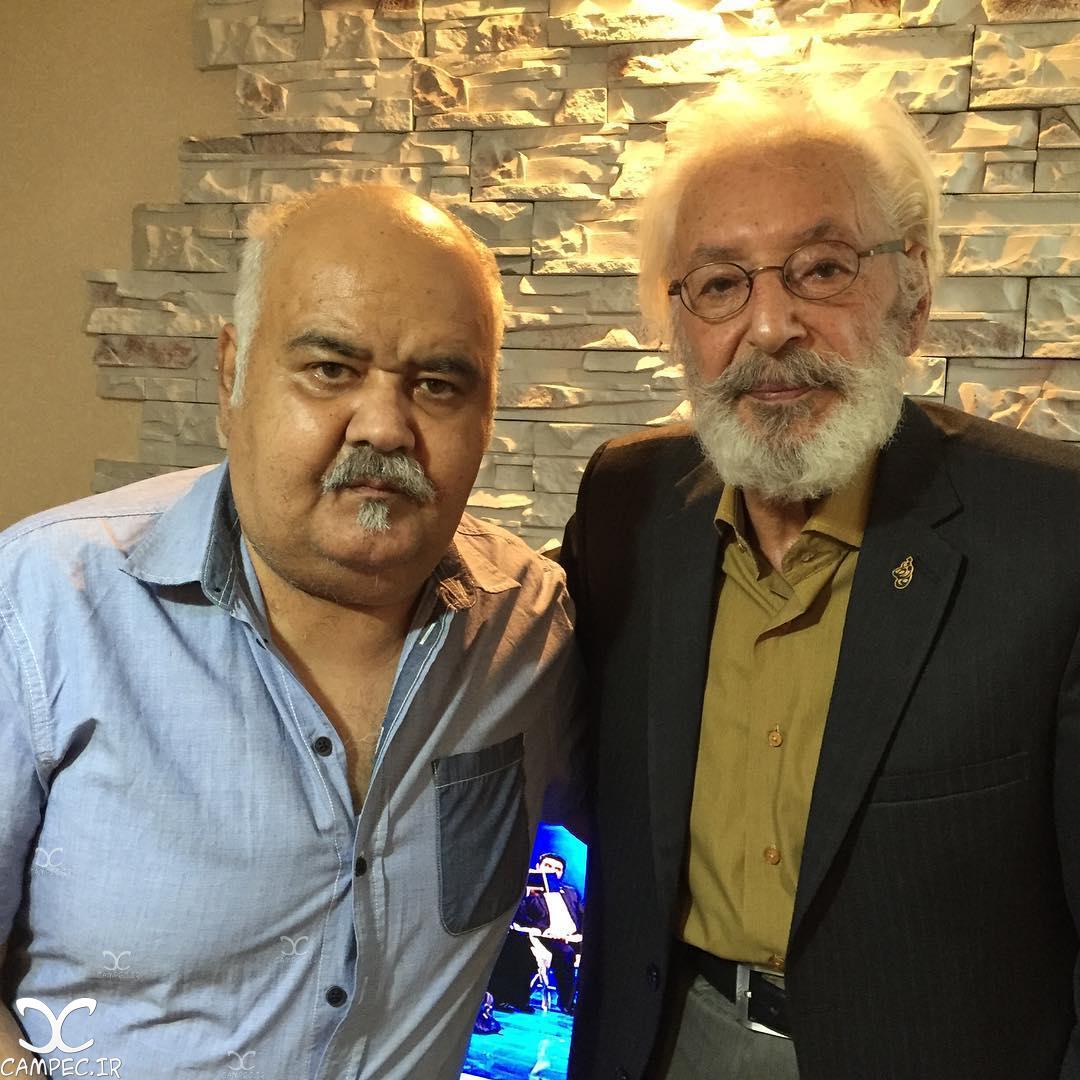 جمشید مشایخی و اکبر عبدی