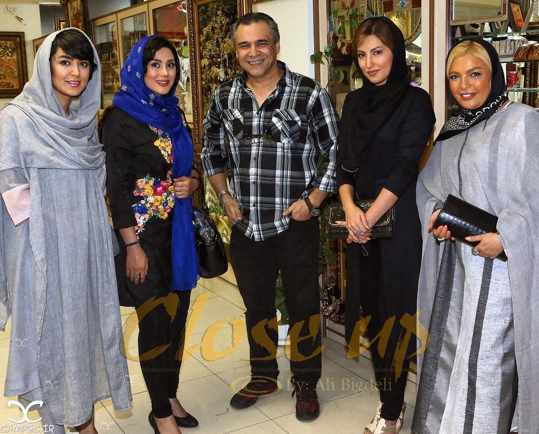 شهرزاد عبدالمجید،سمیرا حسینی و فریبا طالبی