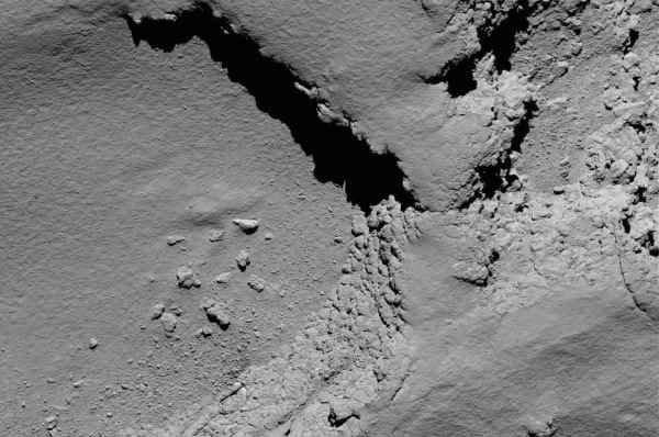تصویر ارسالی توسط فضاپیمای روزتا