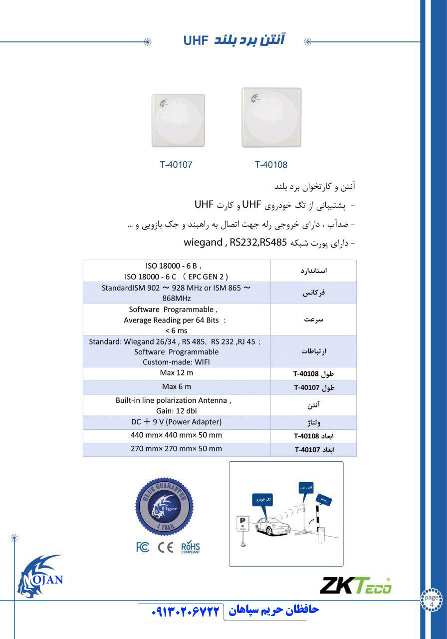 انتن برد بلند RFID