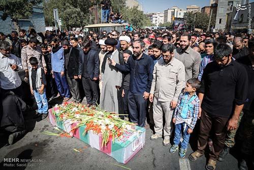 شهید مدافع حرم سجاد زبرجدی
