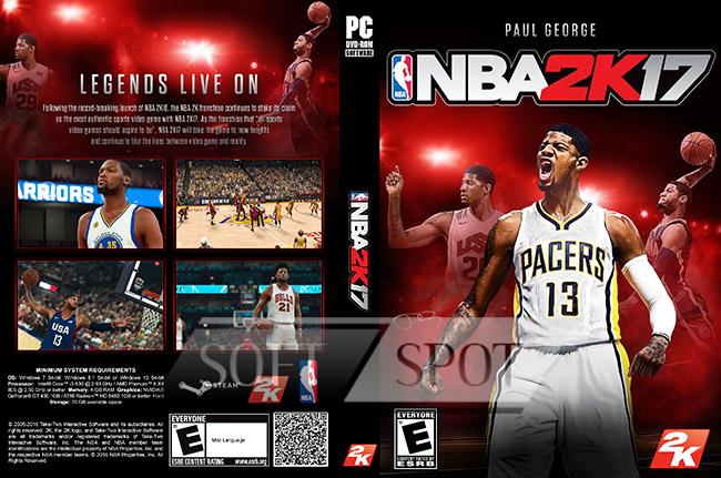 کاور بازی NBA 2K17