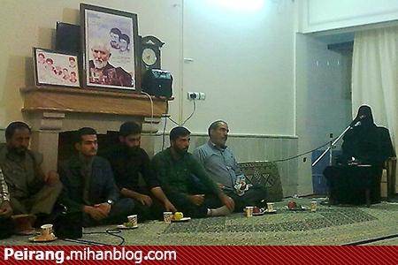 مهمانی شهیدان مهدی و مجید زین الدین