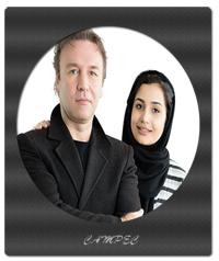 بیوگرافی و عکسهای کیهان ملکی با دخترش ژرفا