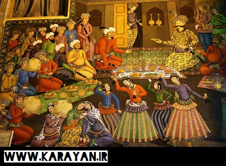 قالی بافی در عصر صفویه (907 -1135 هـ.ق)