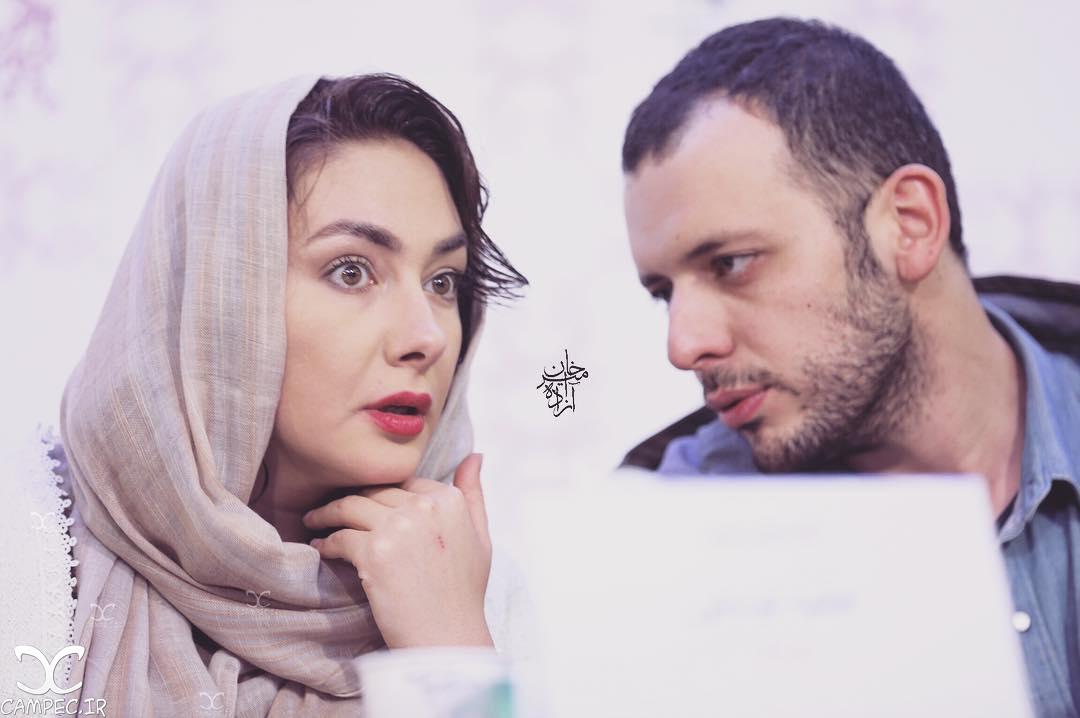 پدرام شریفی و هانیه توسلی در جشنواره فیلم فجر