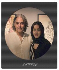 بیوگرافی و عکسهای مهدی احمدی با همسرش