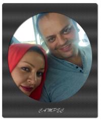بیوگرافی و عکسهای زیبا بروفه با همسرش پیام صابری