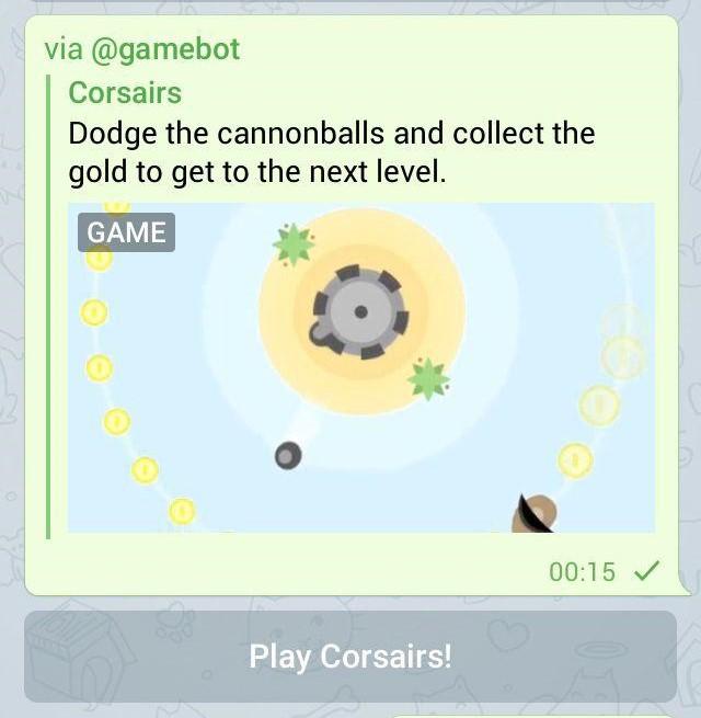 بازی های تلگرام