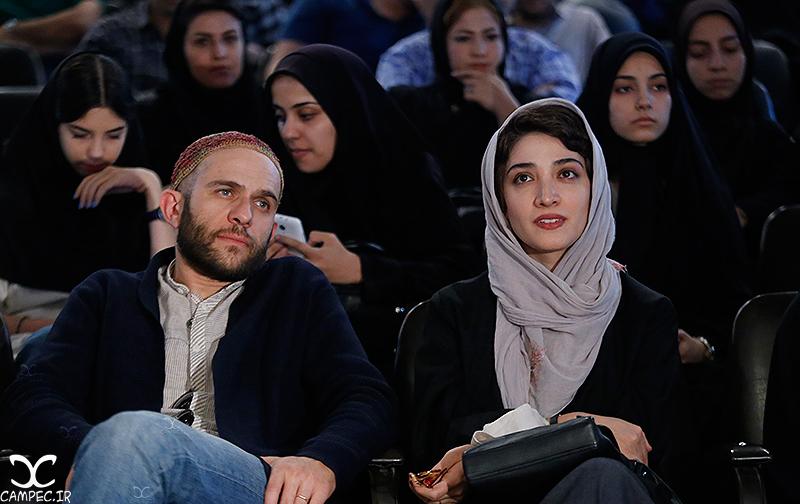 عکسهای اکران فیلم هیهات با حضور بابک حمیدیان و مینا ساداتی