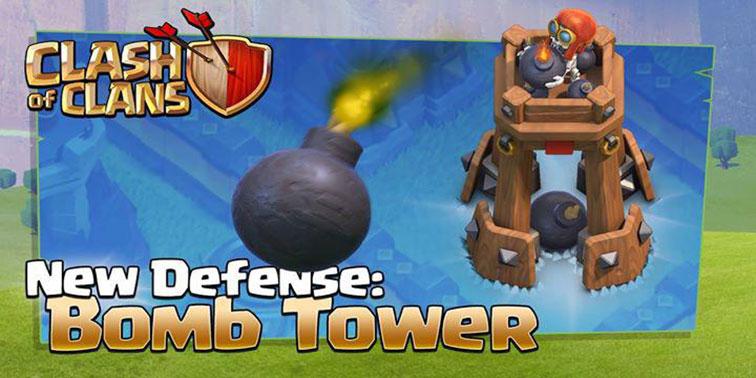 ساختمان دفاعی Bomb Tower